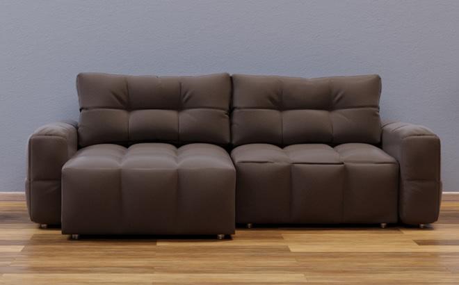 Угловой диван Leonardo Chaise Mini в интерьере