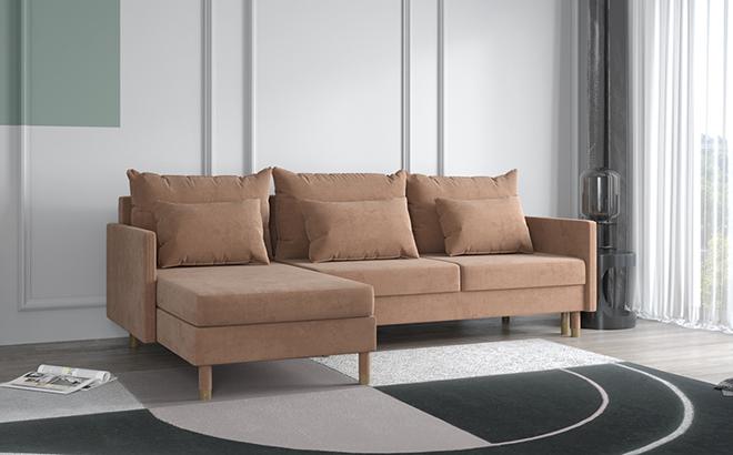 Угловой диван Martino в интерьере