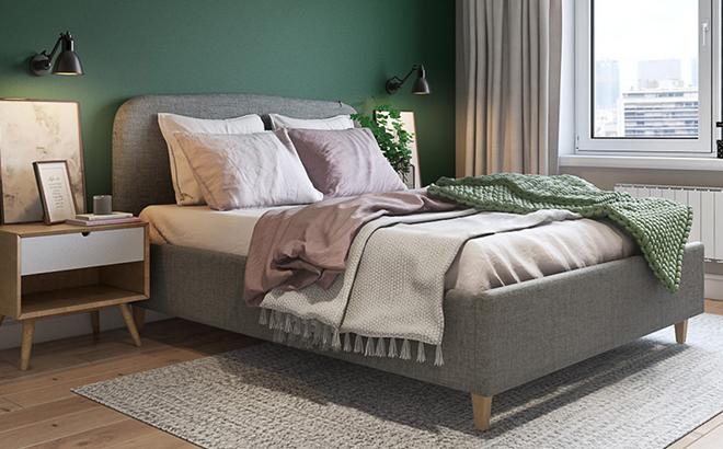 Кровать Adelina в интерьере