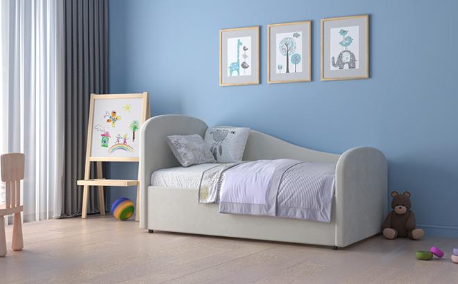 Ліжко Alba в інтер'єрі