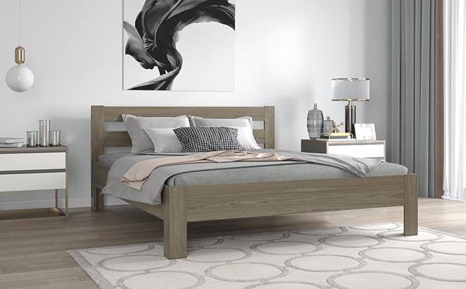 Кровать Camillo Ольха в интерьере