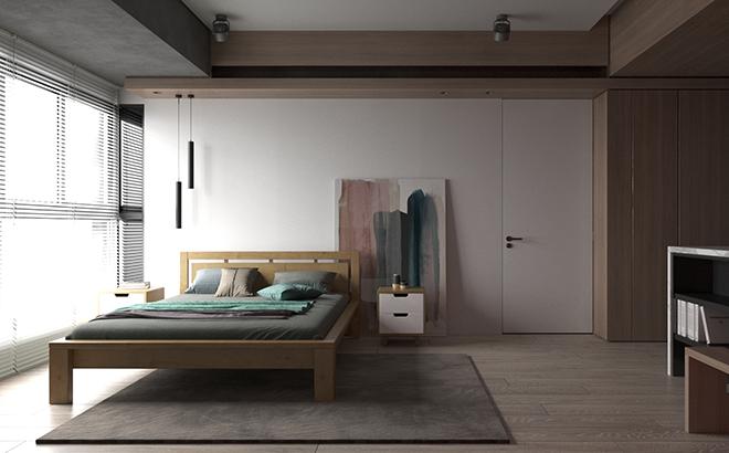 Кровать Casimiro Ольха в интерьере