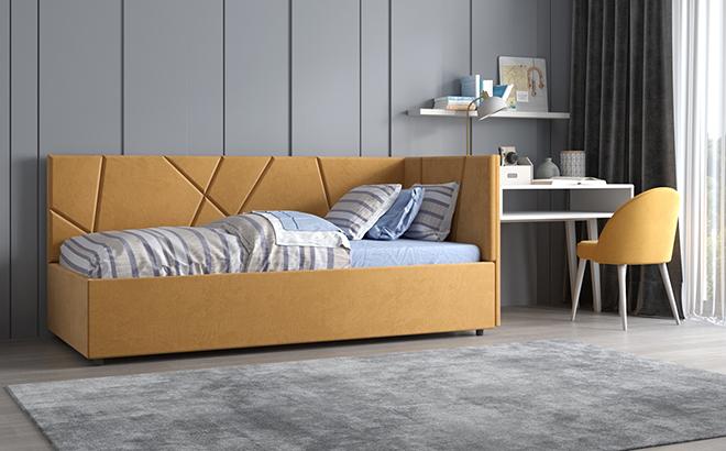 Ліжко Elma в інтер'єрі