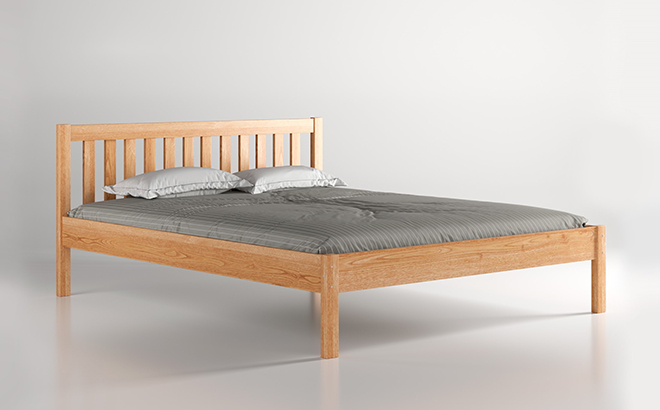 Ліжко Fausto Вільха в інтер'єрі