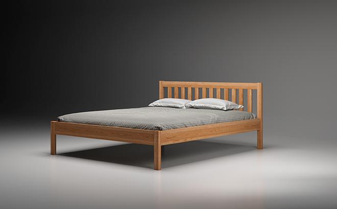 Ліжко Fausto Ясен в інтер'єрі