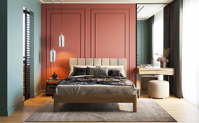 Кровать Gino Ясень в интерьере