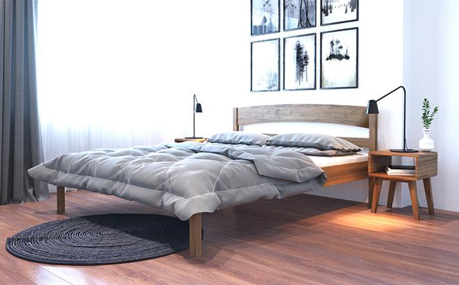 Кровать Hugo Ольха в интерьере