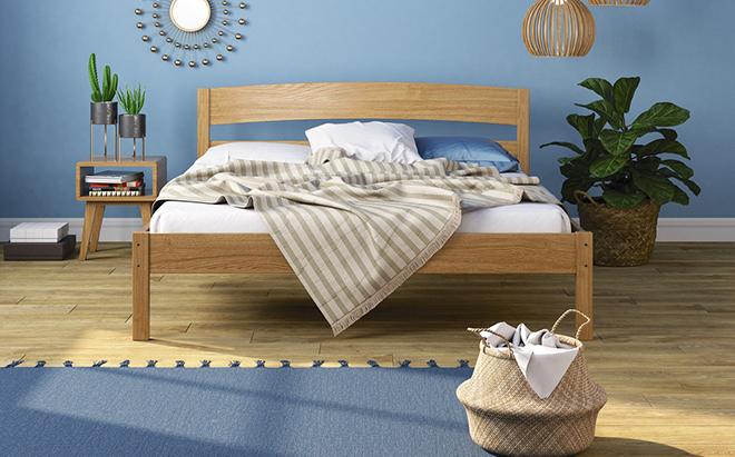 Кровать Hugo Ясень в интерьере