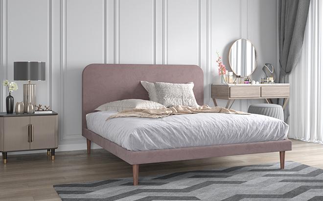 Ліжко Julia в інтер'єрі