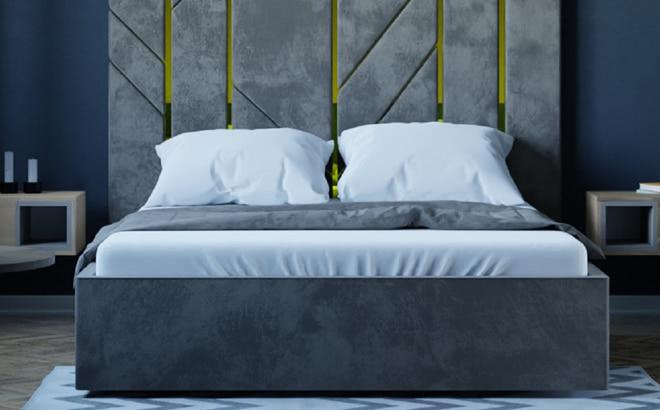 Ліжко Letizia в інтер'єрі