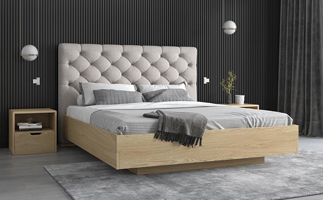 Кровать Merino Ясень в интерьере