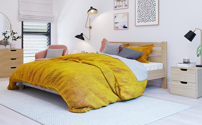 Кровать Nazario Ольха в интерьере