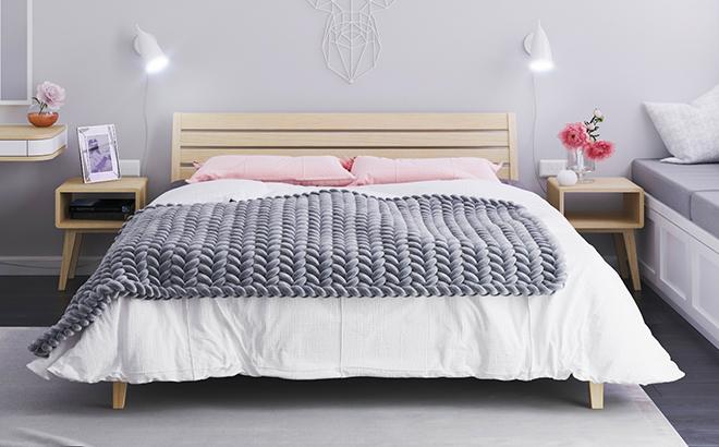 Ліжко Olivia Вільха в інтер'єрі