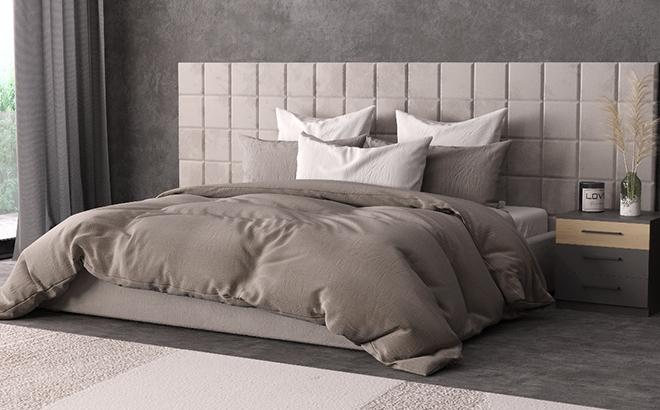 Ліжко Piazza Plus в інтер'єрі