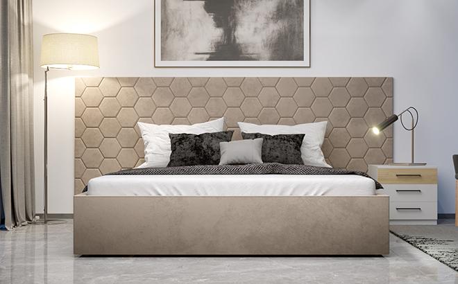 Кровать Senza Plus в интерьере
