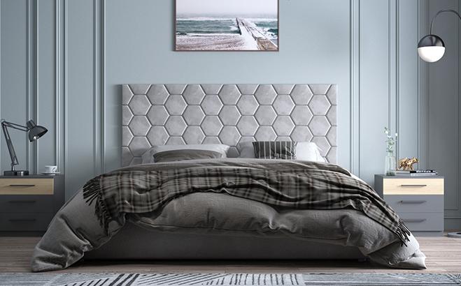 Кровать Senza в интерьере