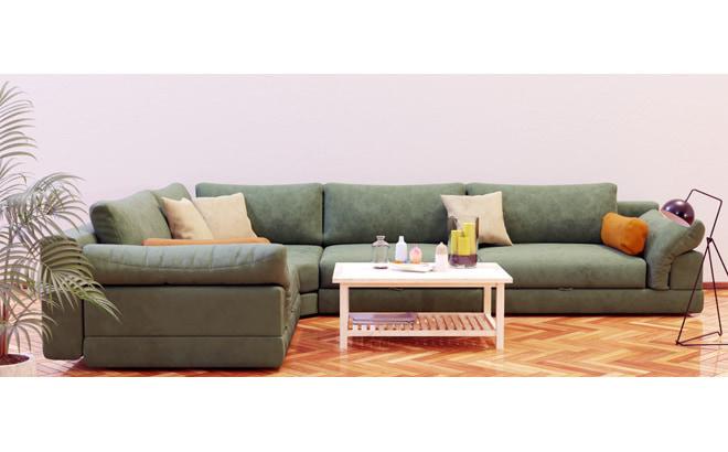 Модульний диван Claudia в інтер'єрі