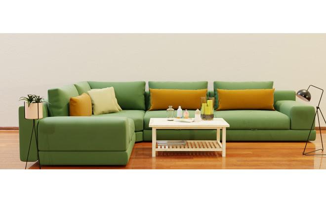 Модульный диван Dario в интерьере
