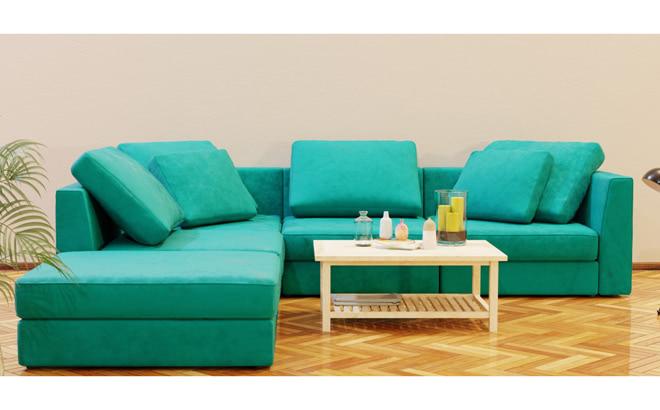 Модульний диван Lisboa в інтер'єрі