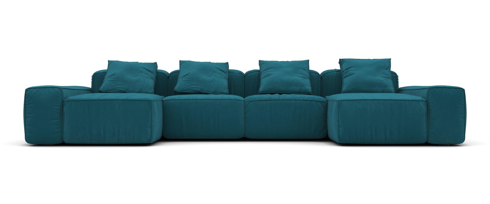 Угловой диван Abele Classic П образный - Pufetto