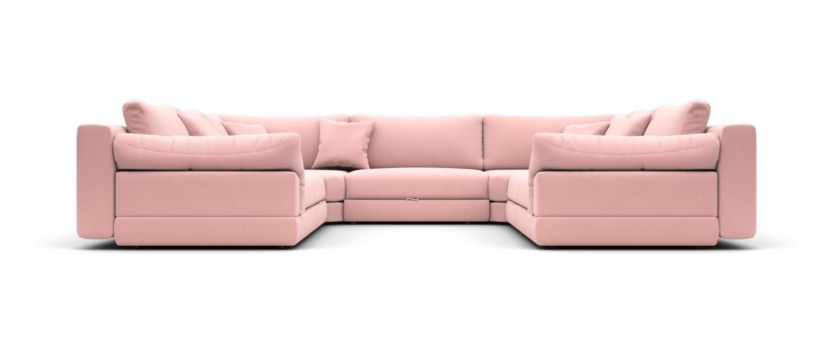 Модульный диван Claudia 340x355 - Pufetto