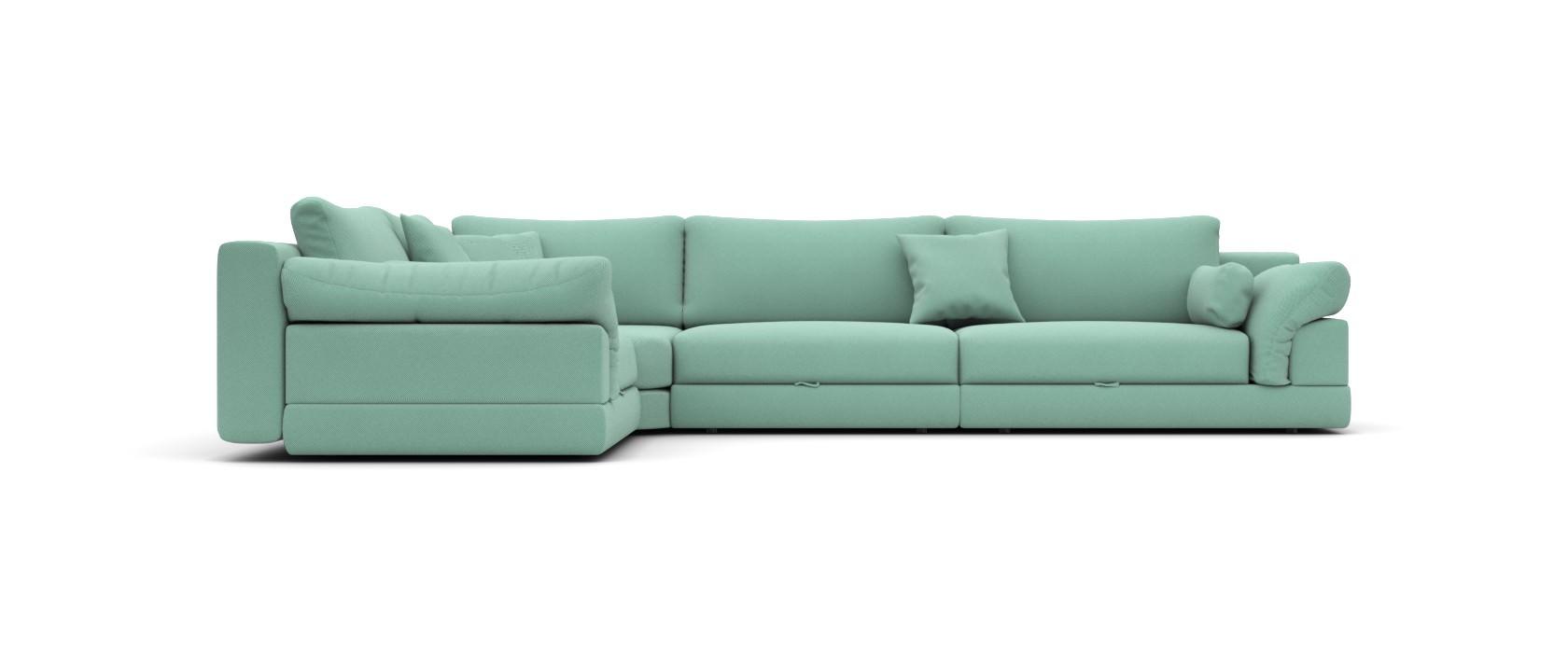 Модульный диван Claudia 355x255 - Pufetto