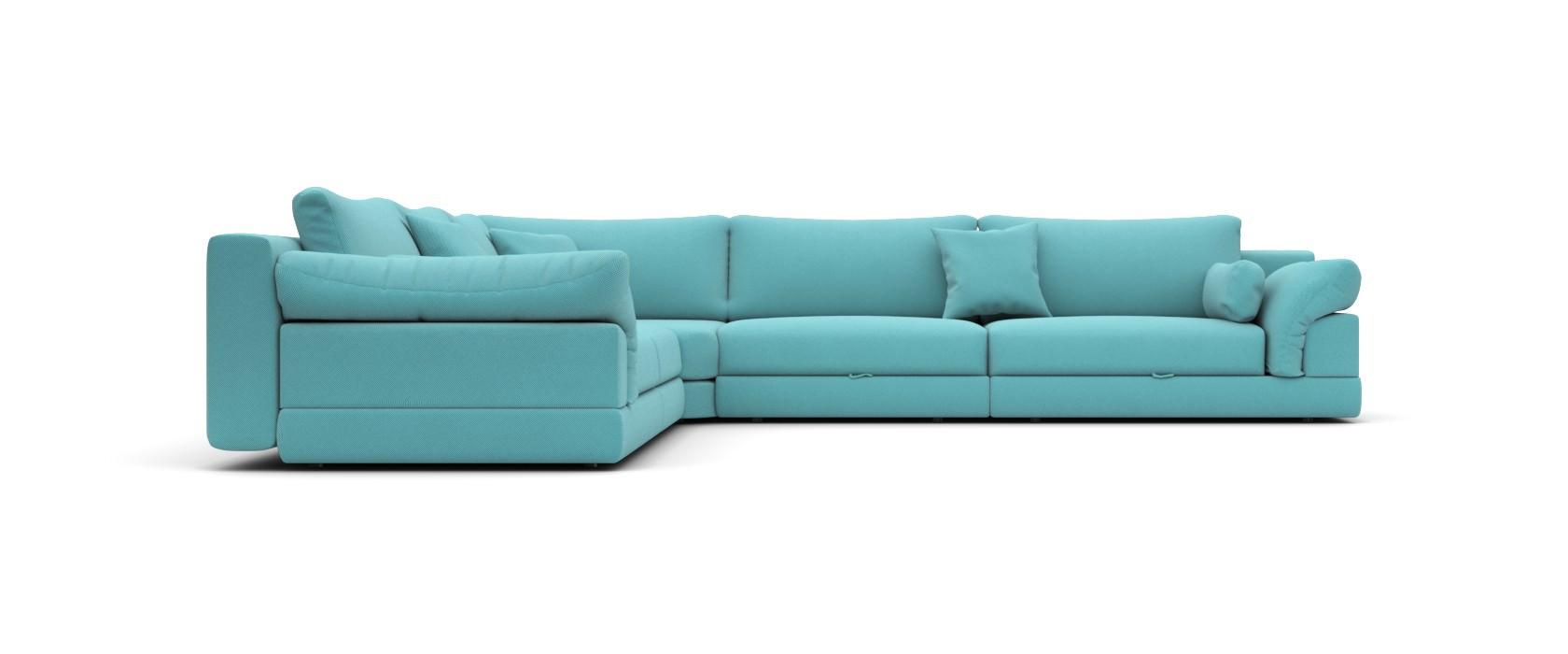 Модульный диван Claudia 355x355 - Pufetto