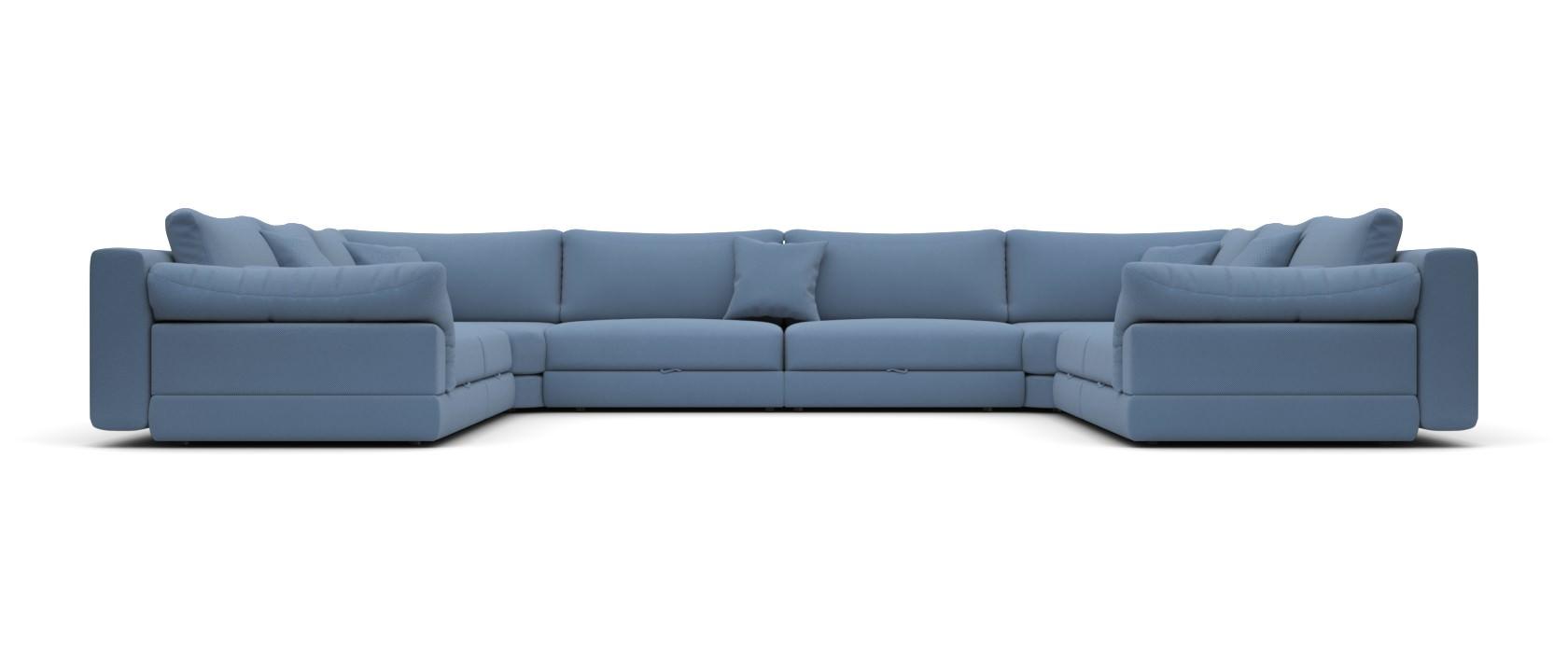 Модульный диван Claudia 440x355 - Pufetto