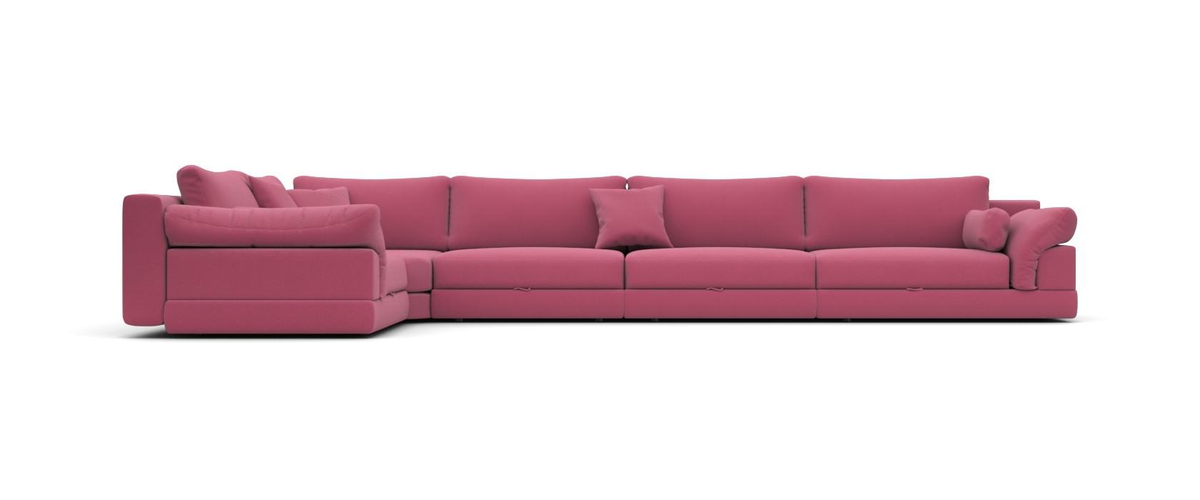 Модульный диван Claudia 455x255 - Pufetto