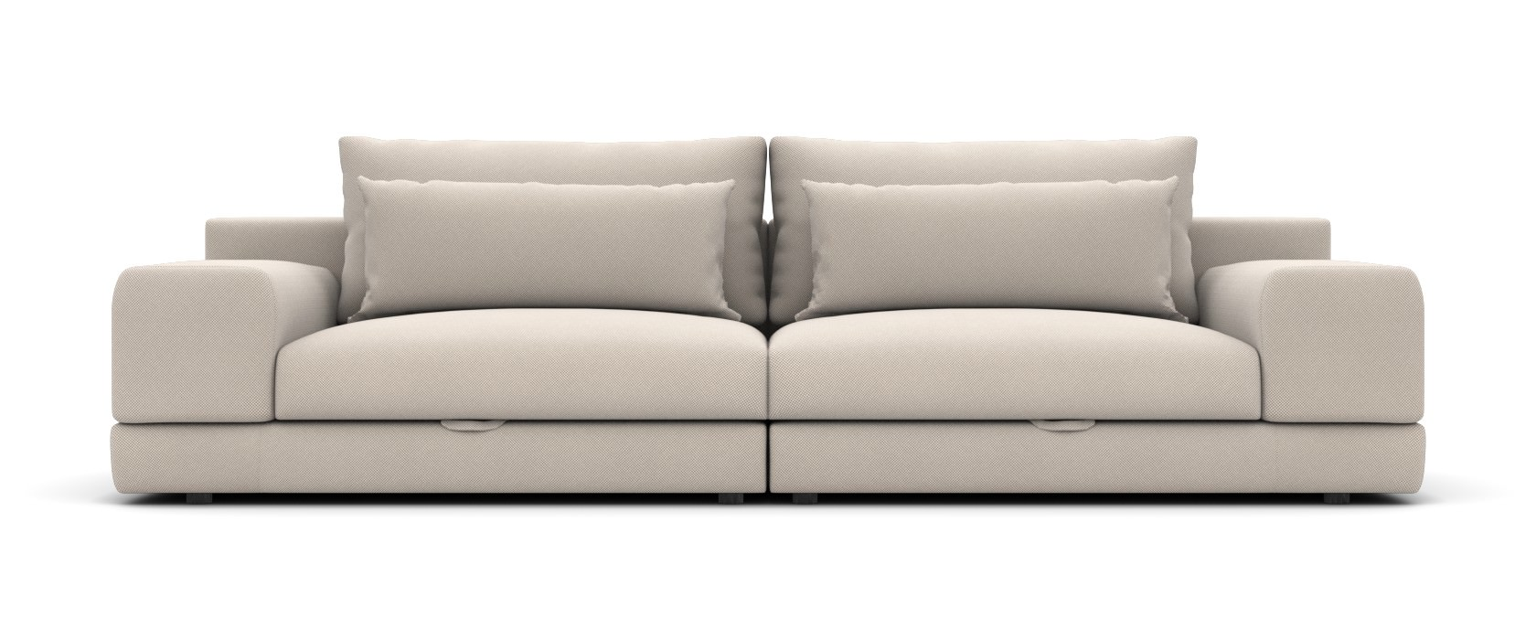Трехместный диван Dario - Фото 1 - Pufetto