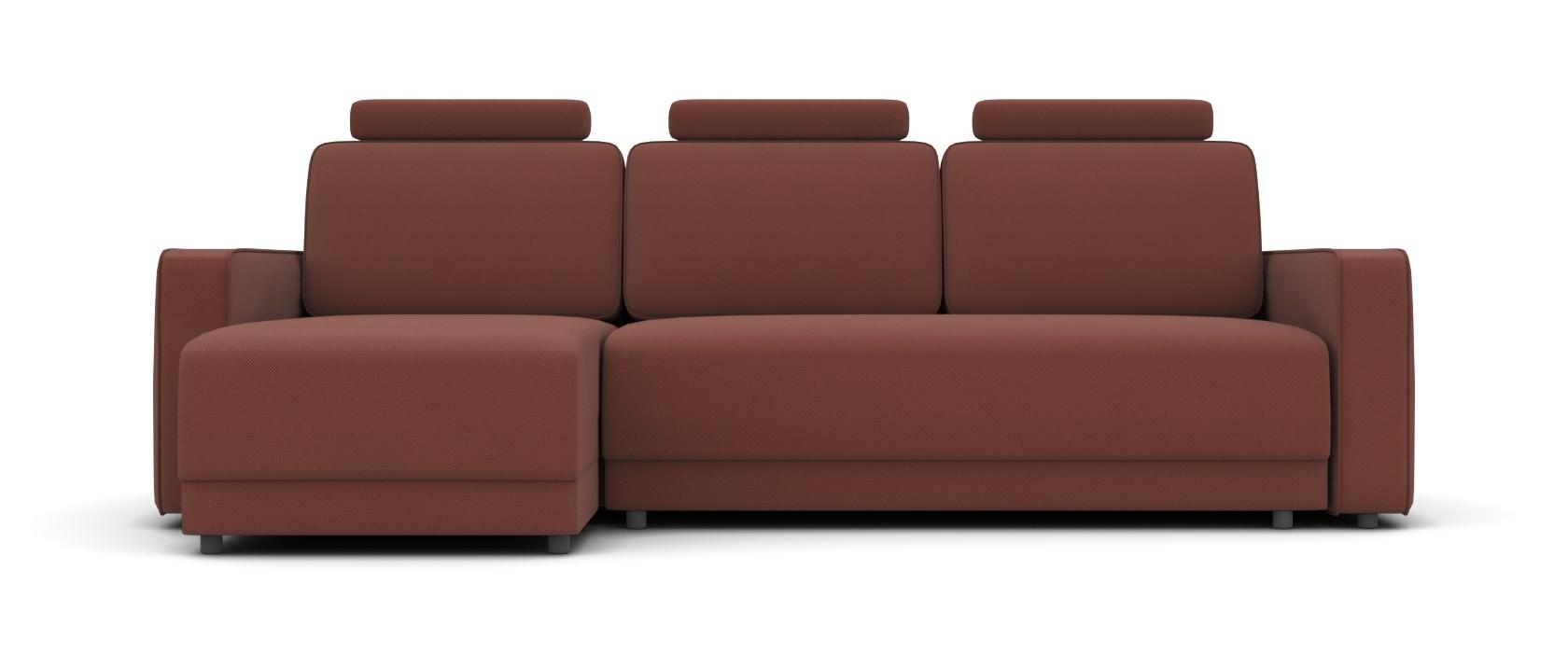 Угловой диван Dino с подголовниками - Pufetto