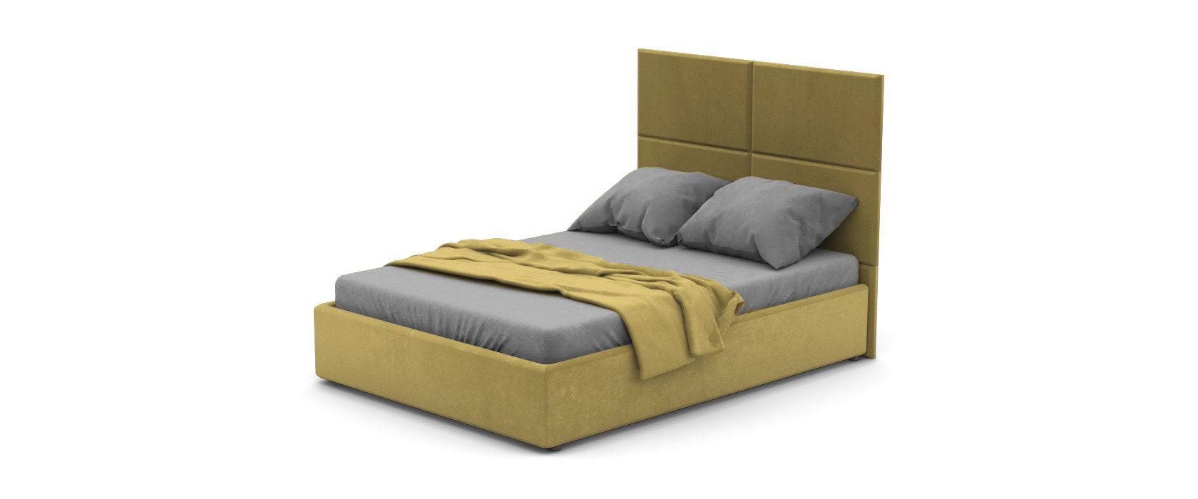 Кровать Foglia со стеновыми панелями
