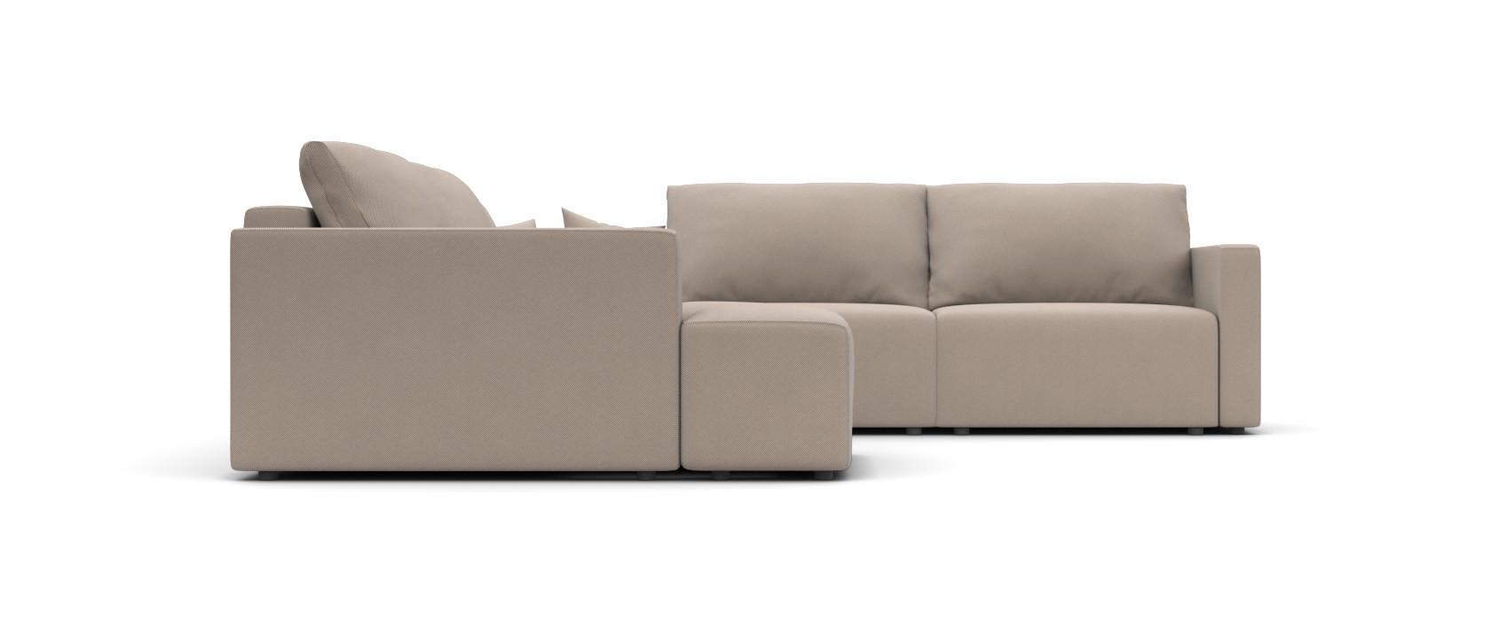 Модульний диван Greta з отоманкою 317x317 - Pufetto