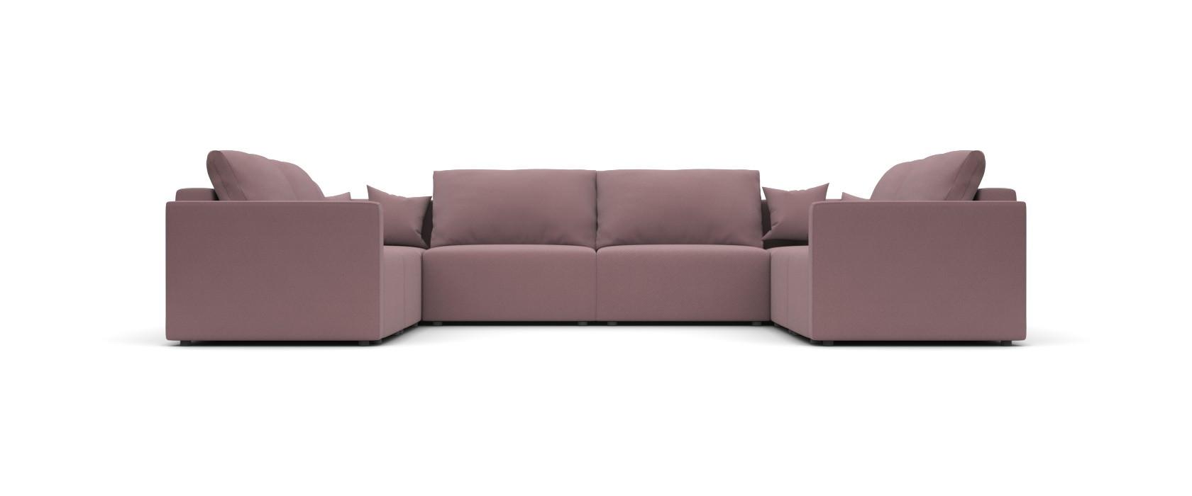 Модульний диван Greta П образний 404x317 - Pufetto