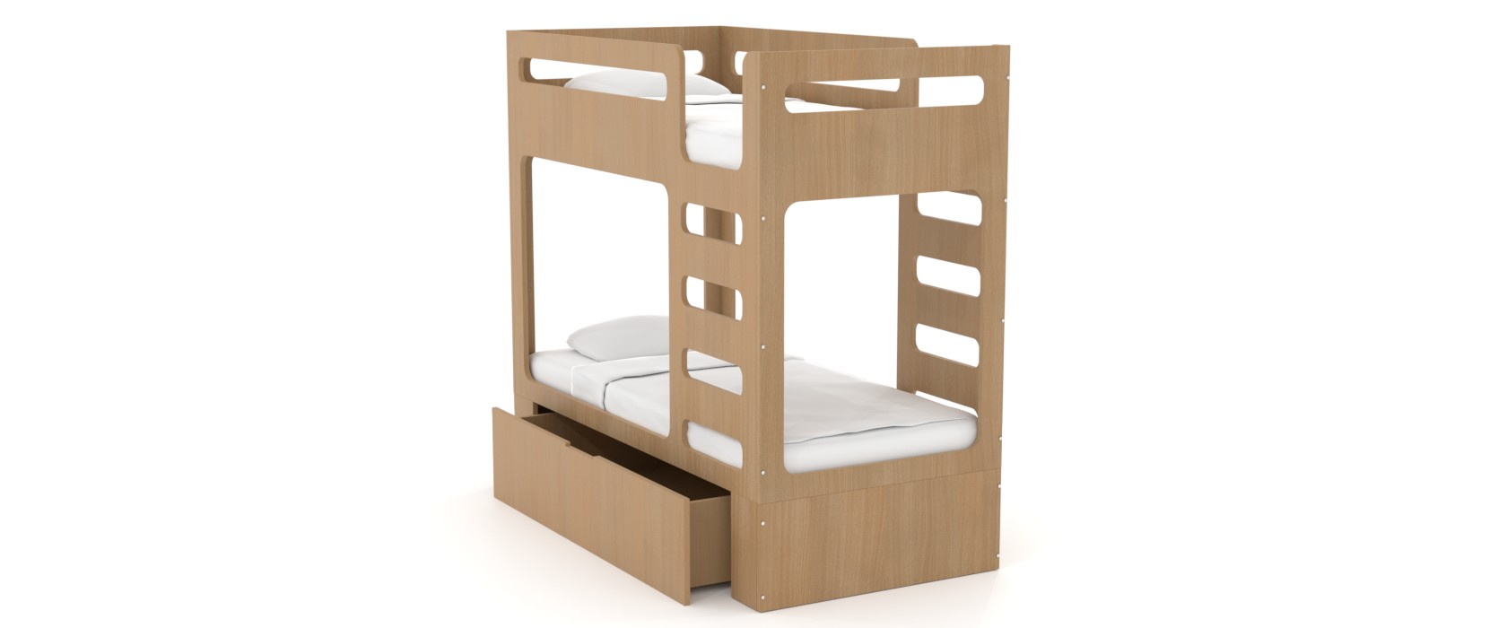 Двох'ярусне ліжко дитяче Cubed Box