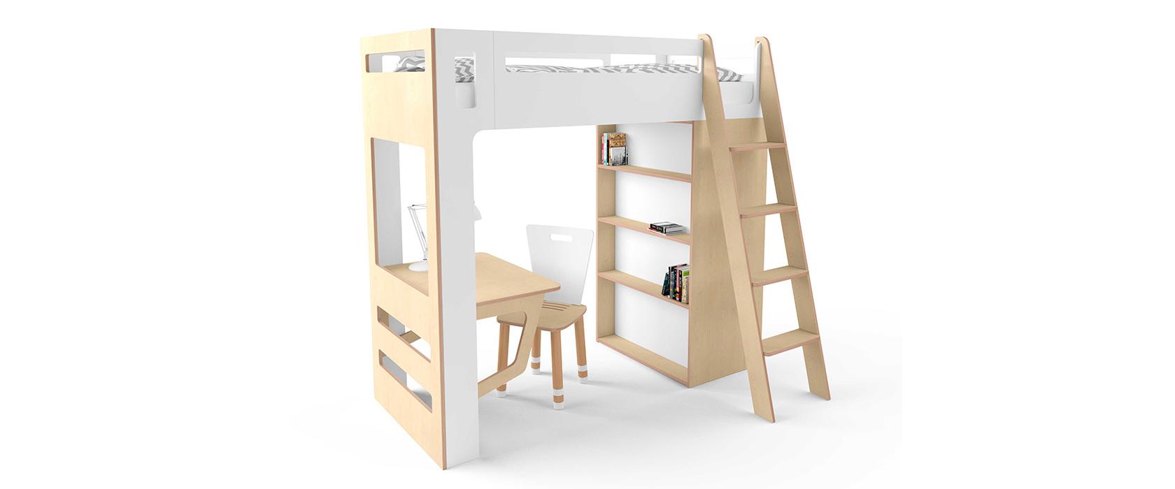 Двухъярусная кровать детская Smart Cube