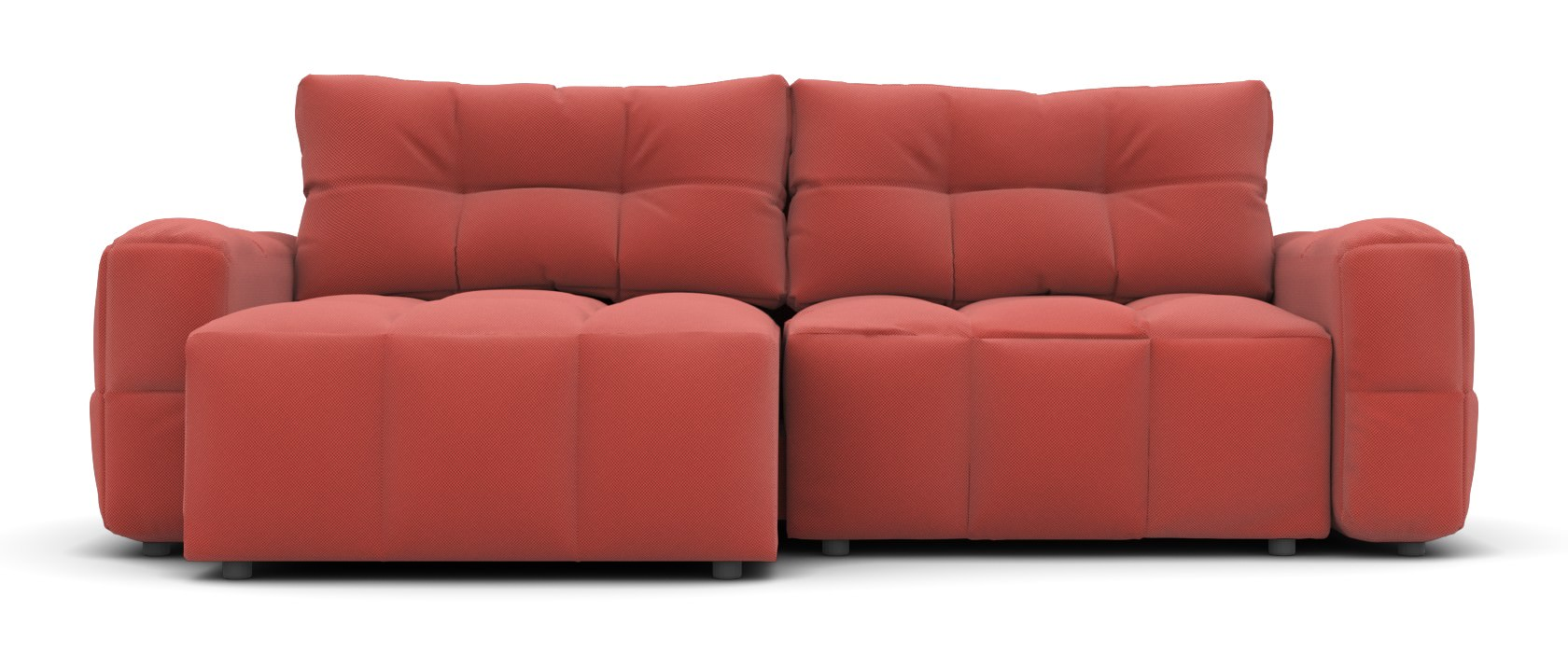 Кутовий диван Leonardo Chaise Mini - Pufetto