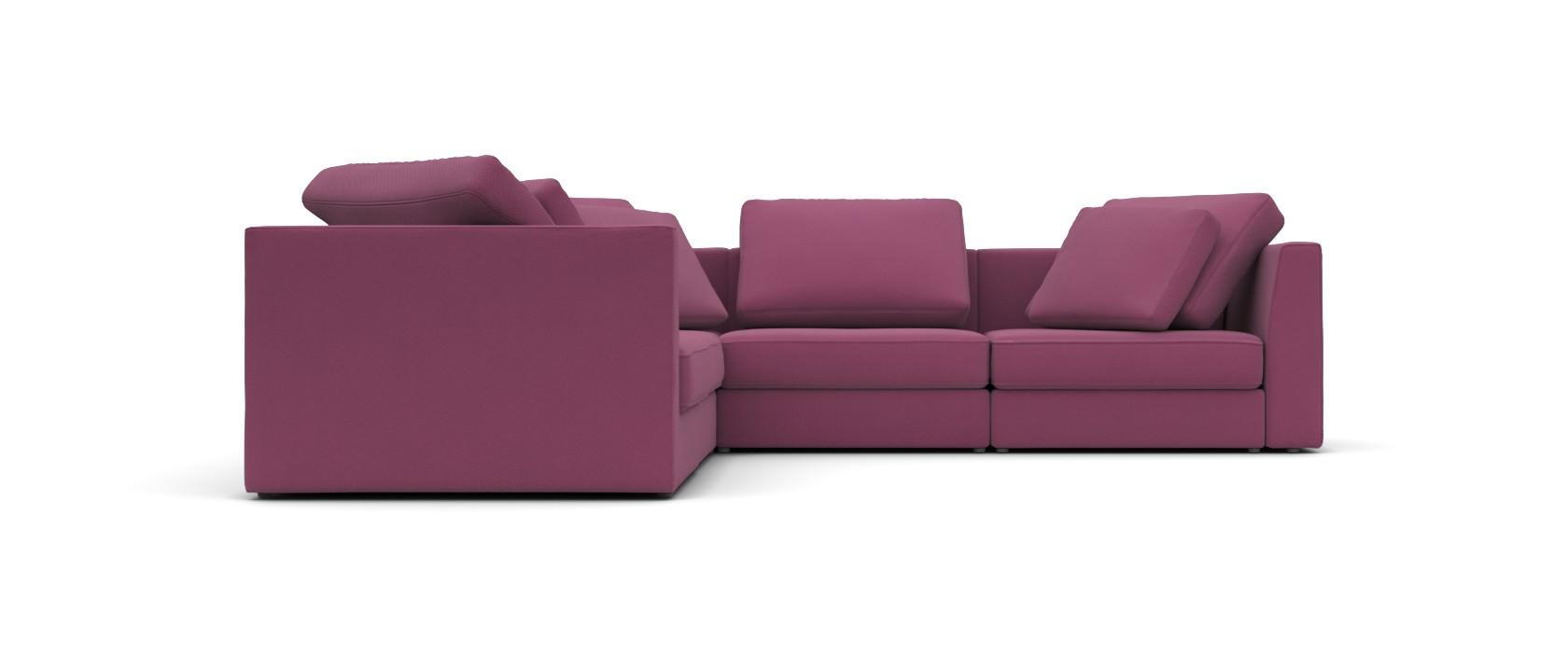 Модульный диван Lisboa 306x306 - Pufetto