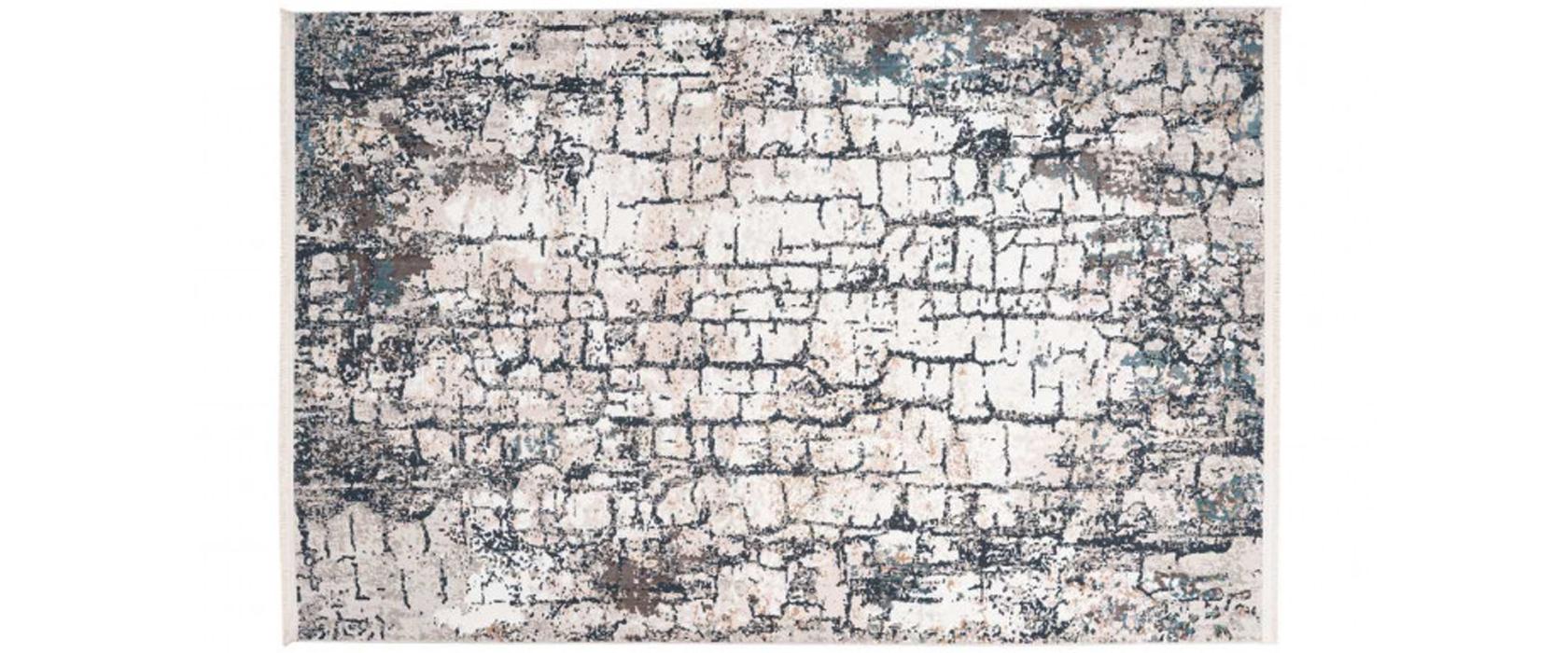 Килим Akropolis 125 Grey/Blue 160х230 см - Pufetto