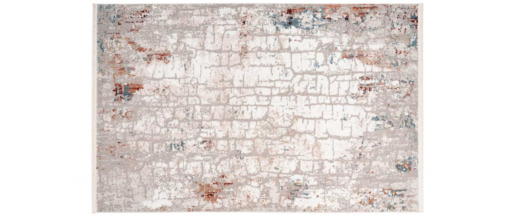 Килим Akropolis 125 Grey/Salmon Pink 160х230 см - Pufetto