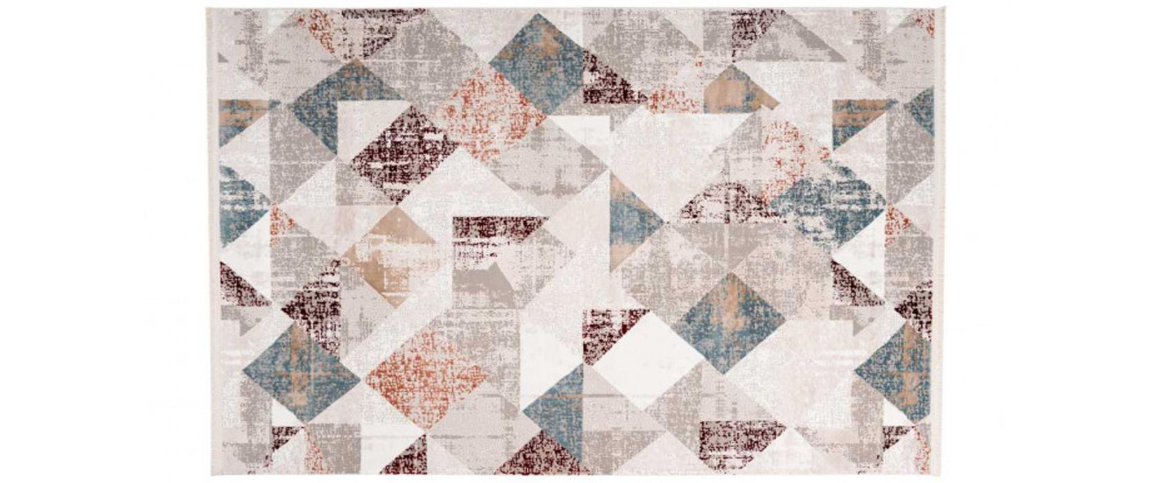 Килим Akropolis 225 Grey/Salmon Pink 160х230 см - Pufetto