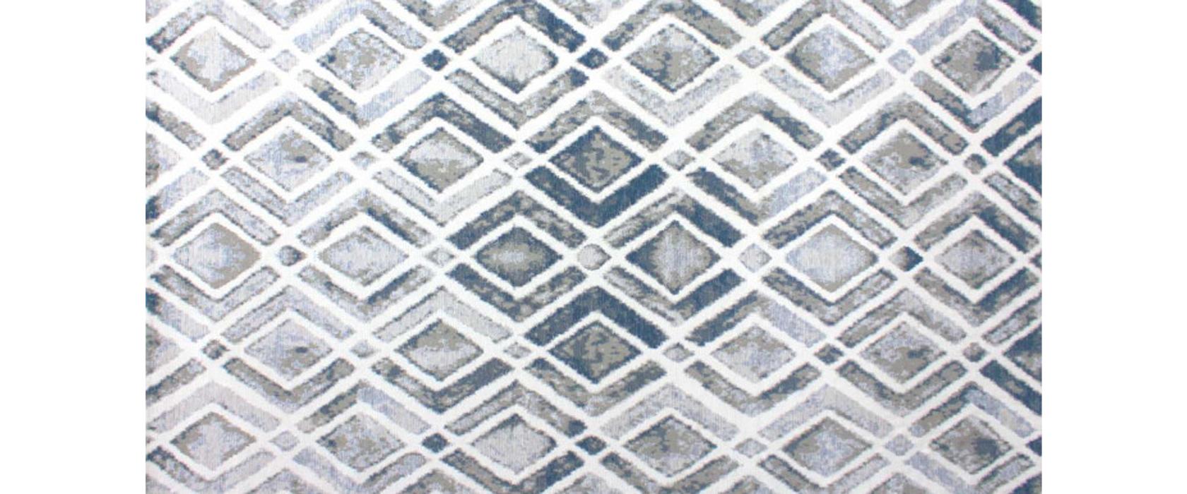 Ковер Venus Geo Blue 160х230 см - Pufetto