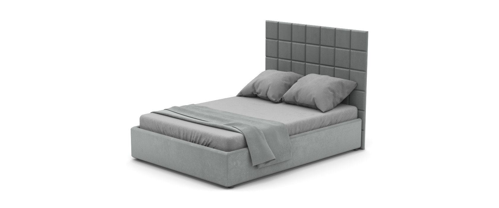 Кровать Piazza со стеновыми панелями