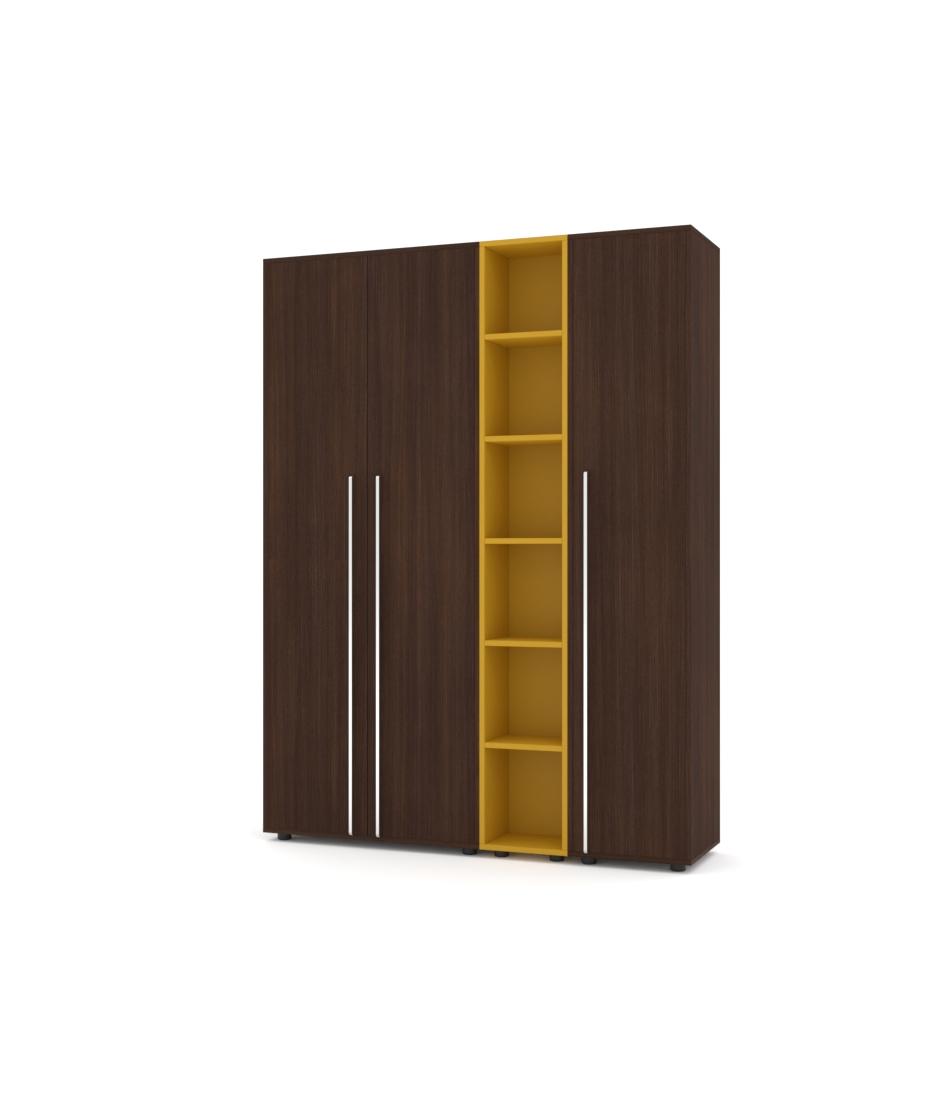 Шкаф Merini модуль с цельными фасадами, модуль полочек и пенал